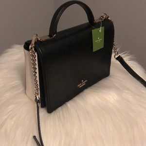 Kate spade two-tone leather cross body bag